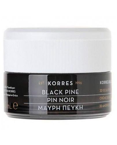 Korres 3D Black Pine Krem na noc - 40 ml - cena, opinie, właściwości
