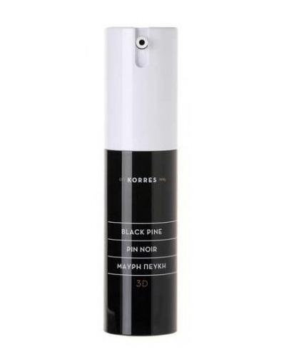 Korres 3D Black Pine Krem pod oczy - 15 ml - cena, opinie, właściwości