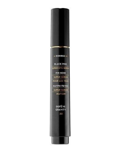 Korres 3D Black Pine Serum super liftingujące pod oczy - 15 ml  - cena, opinie, właściwości  - Drogeria Melissa