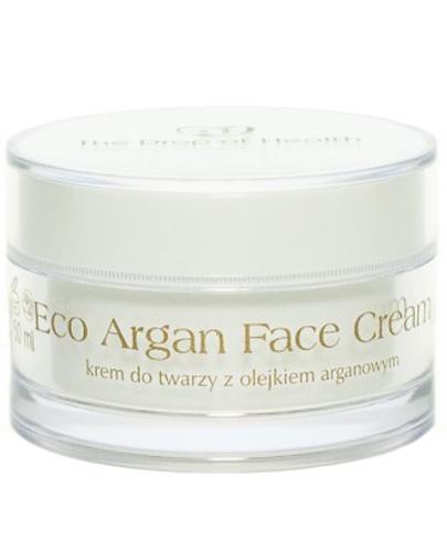 Kropla Zdrowia Eco Argan Face Cream Krem do twarzy z olejkiem arganowym - 50 ml - cena, opinie, właściwości - Drogeria Melissa