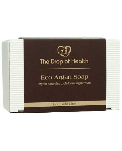 Kropla Zdrowia Eco Argan Soap Mydło naturalne z olejkiem arganowym - 130 g - cena, opinie, właściwości - Drogeria Melissa
