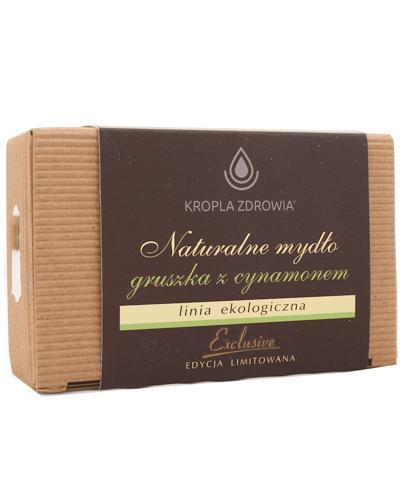 Kropla Zdrowia Naturalne mydło gruszka z cynamonem - 130 g - cena, opinie, skład - Drogeria Melissa