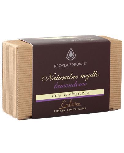 Kropla Zdrowia Naturalne mydło lawendowe - 130 g - cena, opinie, właściwości