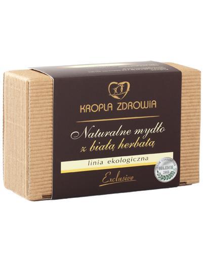 Kropla Zdrowia Naturalne mydło z białą herbatą - 130 g - cena, opinie, składniki - Drogeria Melissa