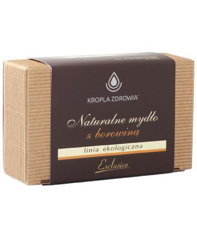 Kropla Zdrowia Naturalne mydło z borowiną - 130 g - cena, opinie, stosowanie - Drogeria Melissa
