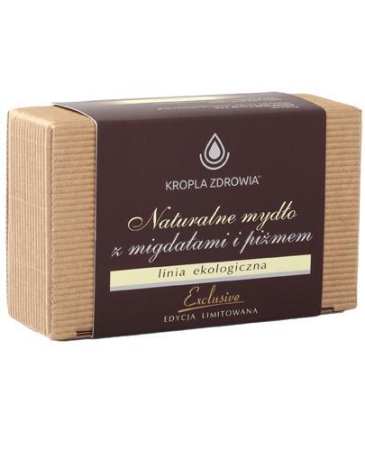 Kropla Zdrowia Naturalne mydło z migdałami i piżmem - 130 g - cena, opinie, stosowanie