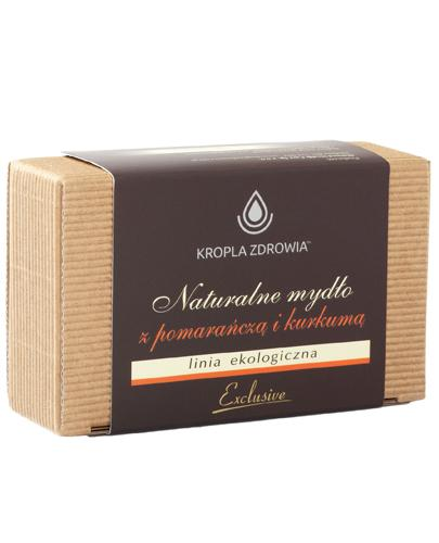 Kropla Zdrowia Naturalne mydło z pomarańczą i kurkumą - 130 g - cena, opinie, właściwości