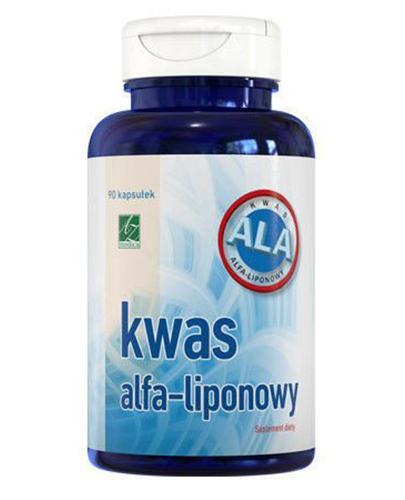 KWAS ALFA-LIPONOWY Naturalny antyoksydant - 90 kaps. - Drogeria Melissa