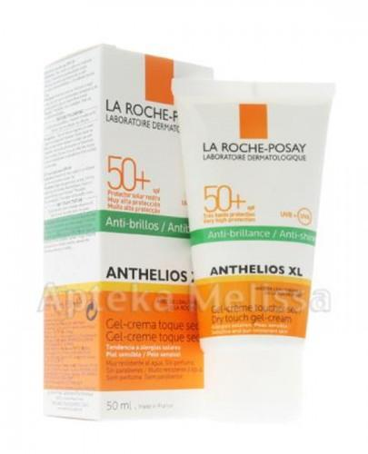 LA ROCHE-POSAY ANTHELIOS XL Barwiący żel-krem do twarzy suchy w dotyku SPF50+ - 50 ml - Apteka internetowa Melissa
