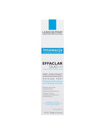 LA ROCHE-POSAY EFFACLAR DUO+ Krem zwalczający niedoskonałości - 40 ml