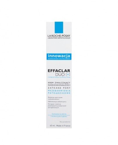 LA ROCHE-POSAY EFFACLAR DUO(+) - Krem zwalczający niedoskonałości - 40 ml - cena, opinie, właściwości