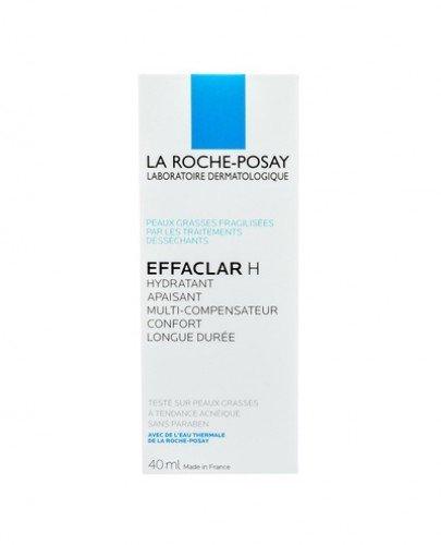 LA ROCHE-POSAY EFFACLAR H Krem łagodzący do cery trądzikowej - 40 ml