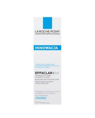 LA ROCHE-POSAY EFFACLAR K+ Odnawiający krem do skóry tłustej - 40 ml