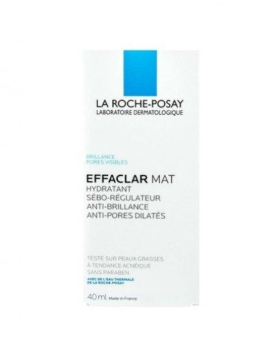 LA ROCHE-POSAY EFFACLAR MAT Seboregulujący krem nawilżający - 40 ml - Apteka internetowa Melissa