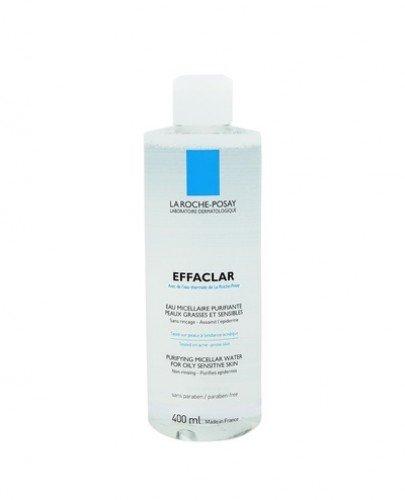 LA ROCHE-POSAY EFFACLAR Woda micelarna do skóry tłustej - 400 ml - Apteka internetowa Melissa