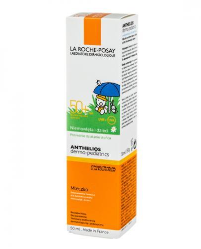 LA ROCHE-POSAY ANTHELIOS DERMO-PEDIATRICS MLECZKO BABY SPF 50+ - 50 ml - Drogeria Melissa