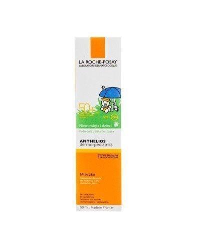 LA ROCHE-POSAY ANTHELIOS DERMO-PEDIATRICS Mleczko dla niemowląt i dzieci do ochrony twarzy i ciała SPF50+ - 50 ml - Apteka internetowa Melissa
