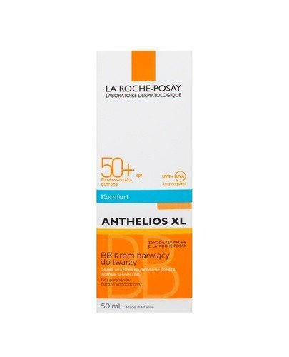 LA ROCHE ANTHELIOS XL BB Krem barwiący do twarzy SPF50+ - 50 ml - Apteka internetowa Melissa