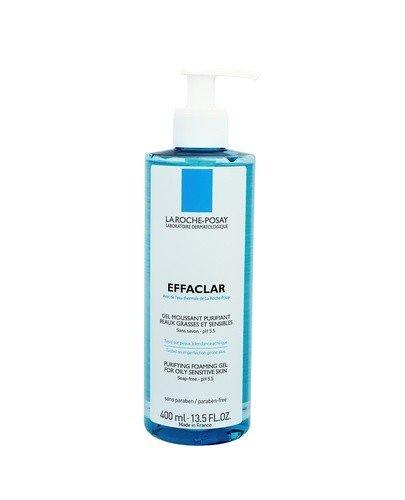 LA ROCHE-POSAY EFFACLAR Żel oczyszczający do skóry tłustej i wrażliwej - 400 ml