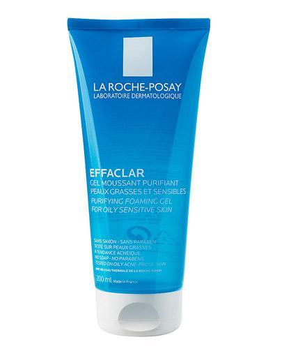 LA ROCHE-POSAY EFFACLAR Żel oczyszczający - 200 ml + EFFACLAR Żel oczyszczający 50 ml - Drogeria Melissa