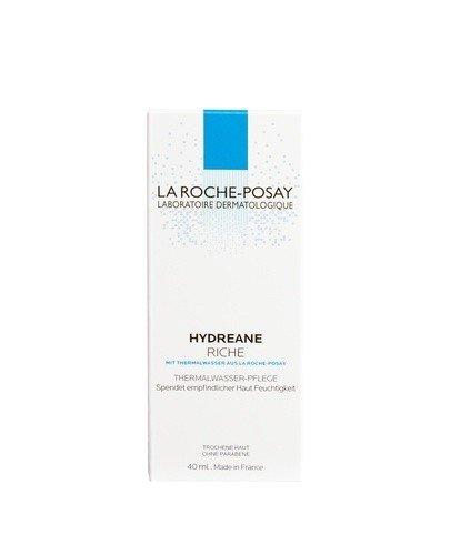 LA ROCHE-POSAY HYDREANE RICHE Krem nawilżający do cery wrażliwej i bardzo suchej - 40 ml