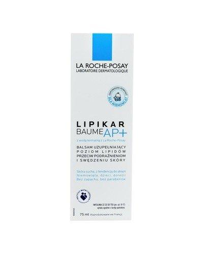 LA ROCHE-POSAY LIPIKAR BAUME AP+ Balsam uzupełniający poziom lipidów - 75 ml - Apteka internetowa Melissa