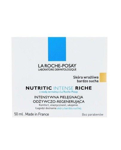 LA ROCHE-POSAY NUTRITIC INTENSE RICHE Intensywna pielęgnacja odżywczo-regenerująca dla skóry bardzo suchej - 50 ml