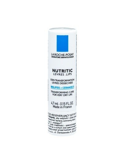 LA ROCHE NUTRITIC Pomadka do ust - 4,7 ml - Apteka internetowa Melissa