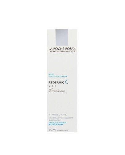 LA ROCHE-POSAY REDERMIC C EYES pod oczy intensywnie nawilżająca i ujędrniająca pielęgnacja przeciwzmarszczkowa pod oczy - 15 ml