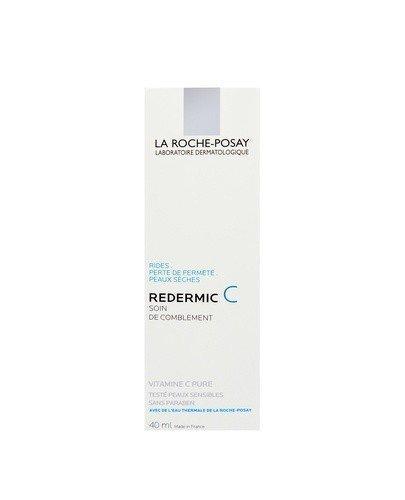 LA ROCHE-POSAY REDERMIC C Krem wypełniający zmarszczki intensywnie ujędrniający skóra sucha - 40 ml - Apteka internetowa Melissa