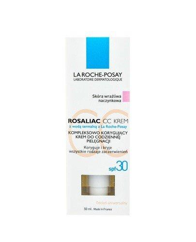 LA ROCHE-POSAY ROSALIAC CC Kompleksowo korygujący krem do codziennej pielęgnacji SPF30 - 50 ml - Apteka internetowa Melissa