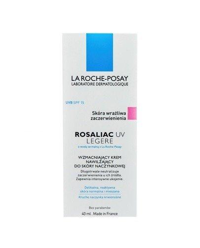LA ROCHE-POSAY ROSALIAC UV LEGERE Krem nawilżający przeciw zaczerwienieniom do cery normalnej i mieszanej  - 40 ml