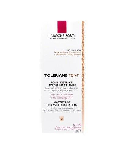 LA ROCHE-POSAY TOLERIANE TEINT 01 Matujący podkład w musie - 30 ml - Apteka internetowa Melissa