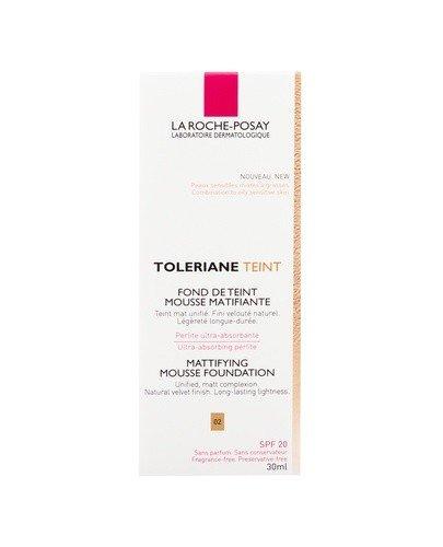 LA ROCHE-POSAY TOLERIANE TEINT 02 Matujący podkład w musie - 30 ml