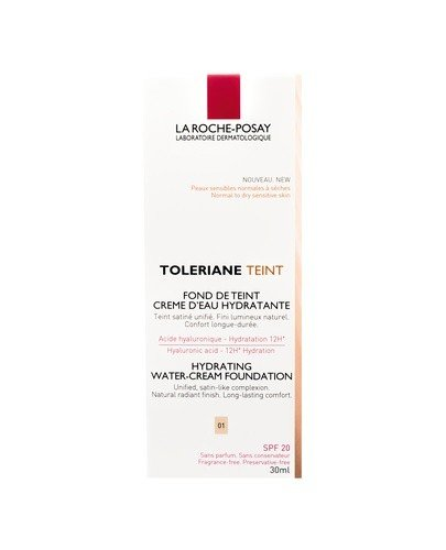 LA ROCHE-POSAY TOLERIANE TEINT CREME Nawilżający podkład w kremie odcień 01 - 30 ml