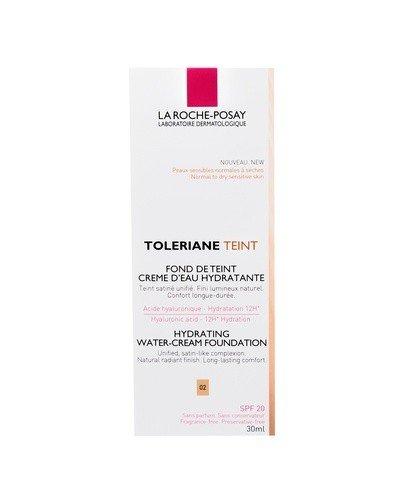 LA ROCHE-POSAY TOLERIANE TEINT CREME Nawilżający podkład w kremie odcień 02 - 30 ml