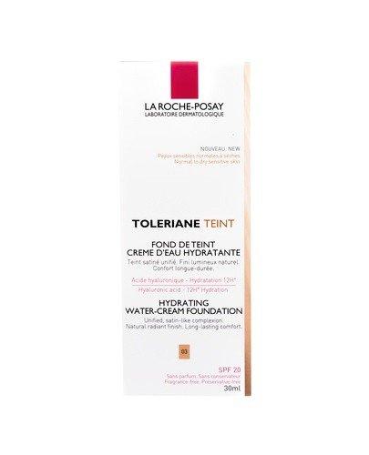 LA ROCHE-POSAY TOLERIANE TEINT CREME Nawilżający podkład w kremie odcień 03 - 30 ml