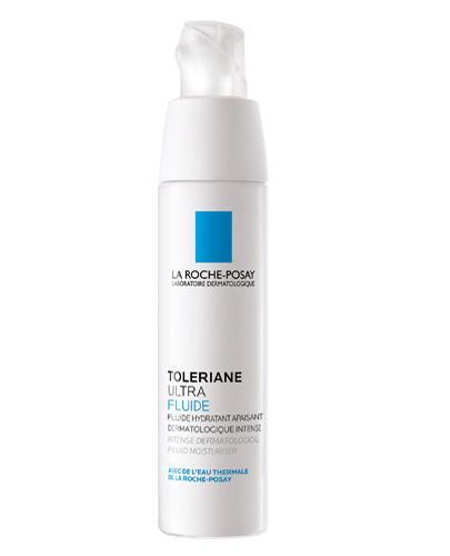 LA ROCHE-POSAY TOLERIANE ULTRA FLUID Intensywna pielęgnacja kojąca do twarzy i pod oczy - 40 ml