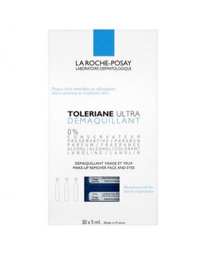 LA ROCHE-POSAY TOLERIANE Preparat do demakijażu oczu - 30 amp. x 5 ml - Apteka internetowa Melissa