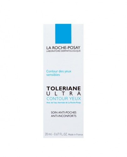 LA ROCHE-POSAY TOLERIANE ULTRA okolice oczu intensywna pielęgnacja kojąca dla wrażliwej skóry okolic oczu - 20 ml