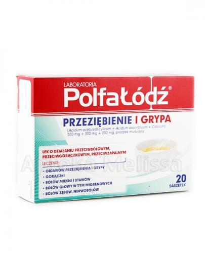 LABORATORIA POLFA ŁÓDŹ Przeziębienie i Grypa - 20 sasz. - Apteka internetowa Melissa