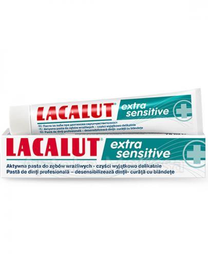 LACALUT EXTRA SENSITIVE Pasta do zębów wrażliwych - 75 ml - Apteka internetowa Melissa