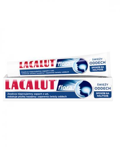 LACALUT FLORA - pasta do zębów na halitozę - 75 ml - cena, opinie, stosowanie - Apteka internetowa Melissa