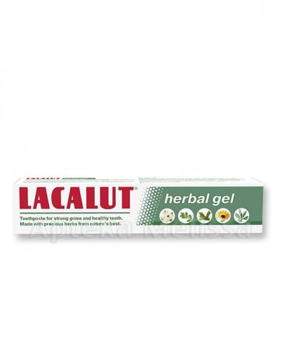 LACALUT HERBAL GEL Pasta do zębów - 75 ml - Apteka internetowa Melissa