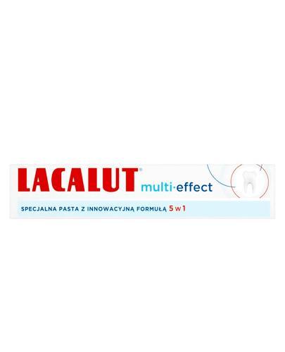 LACALUT MULTI-EFFECT Specjalna pasta z innowacyjną formułą 5w1 - 75 ml - Apteka internetowa Melissa