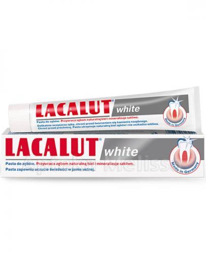 LACALUT WHITE Pasta do zębów wybielająca - 75 ml - Apteka internetowa Melissa