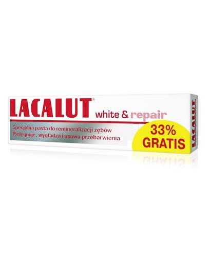 LACALUT WHITE&REPAIR Pasta do zębów - 100 ml - cena, opinie, właściwości - Apteka internetowa Melissa