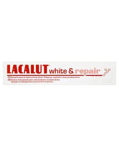 LACALUT WHITE&REPAIR Pasta do zębów - 75 ml - cena, stosowanie, opinie  - Apteka internetowa Melissa
