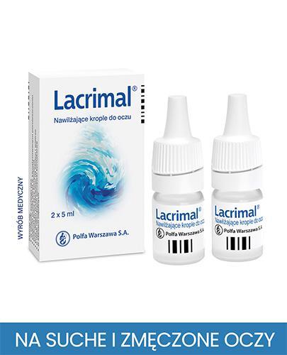 LACRIMAL Krople do oczu - 10 ml (2 x 5 ml) - Apteka internetowa Melissa