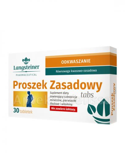 LANGSTEINER Proszek zasadowy tabs - 30 tabl. - Apteka internetowa Melissa